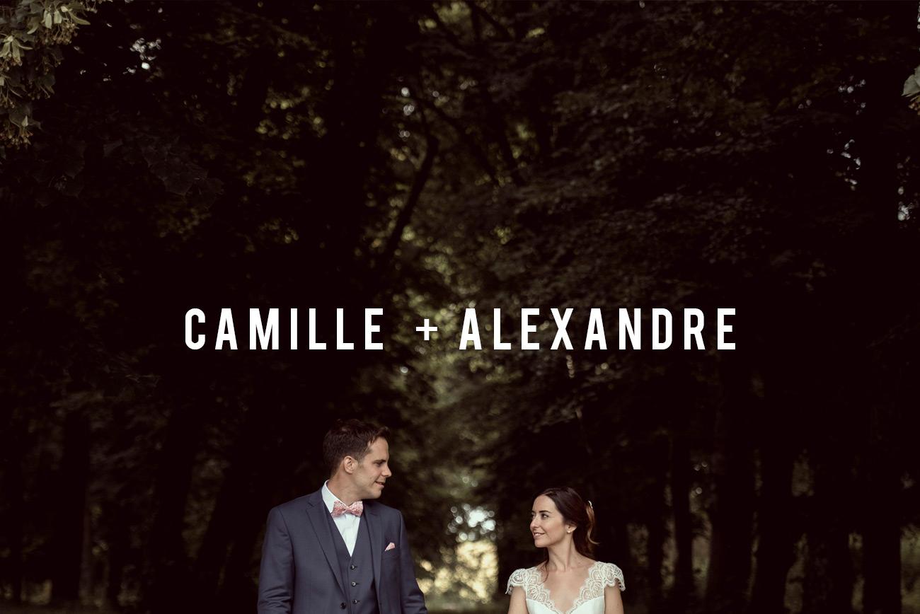 mariage au château de la Caniére en Auvergne