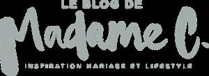LE BLOG DE MADAME C BLOG DE MARIAGE