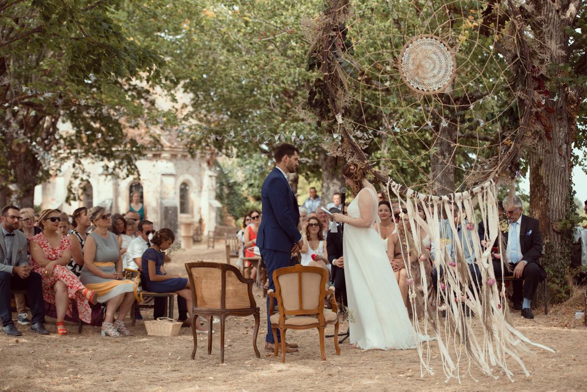 ceremonie laique au chateau de la crete a montlucon