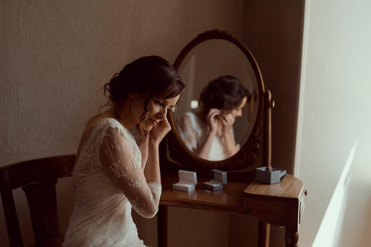 preparatifs de la mariee a Cunlhat