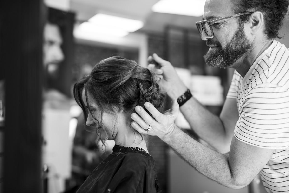 coiffure de la mariée a thiers
