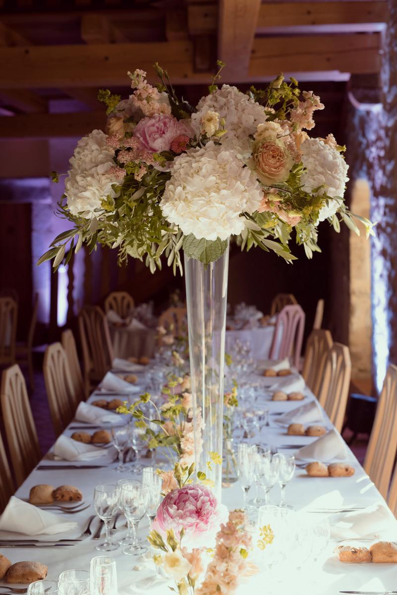 decoration de la table stephane chanteloube