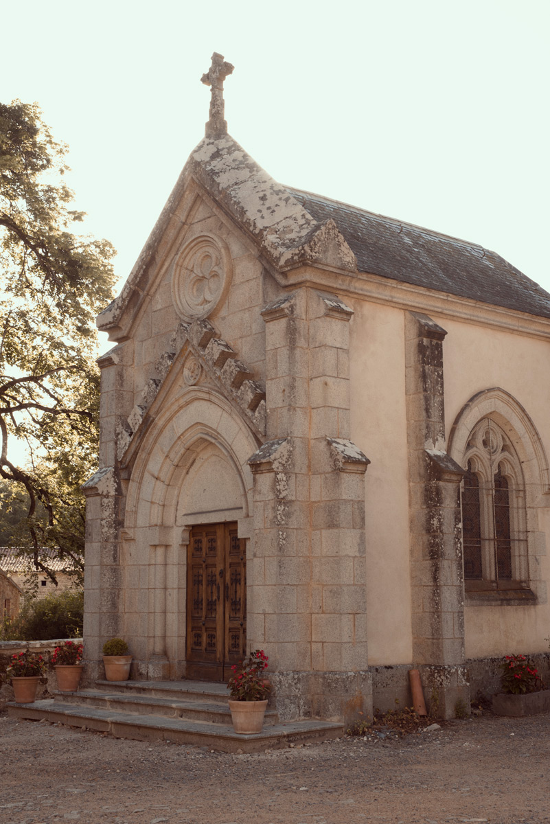 chapelle du chateau des martinanches