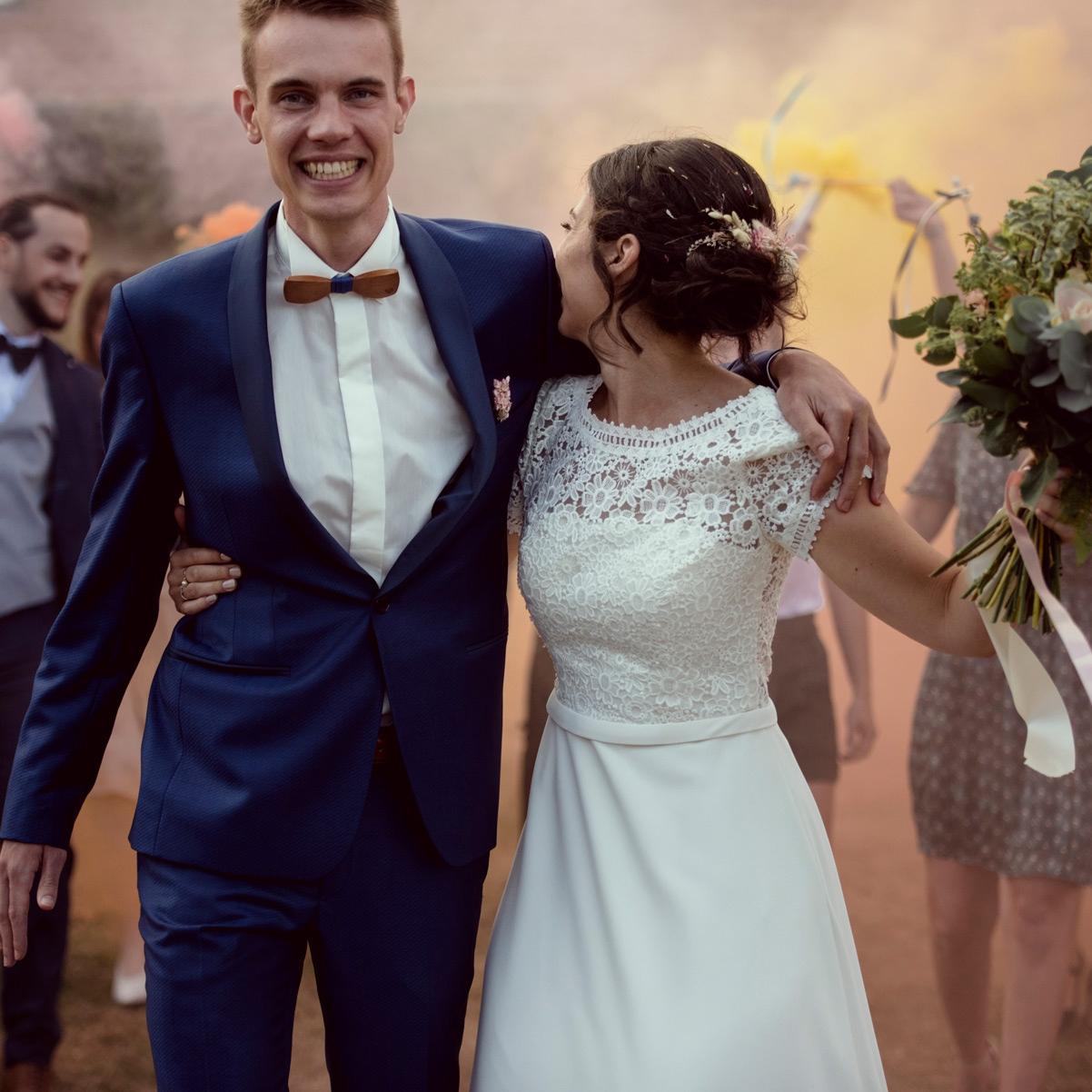 mariage au gote du berger en Auvergne