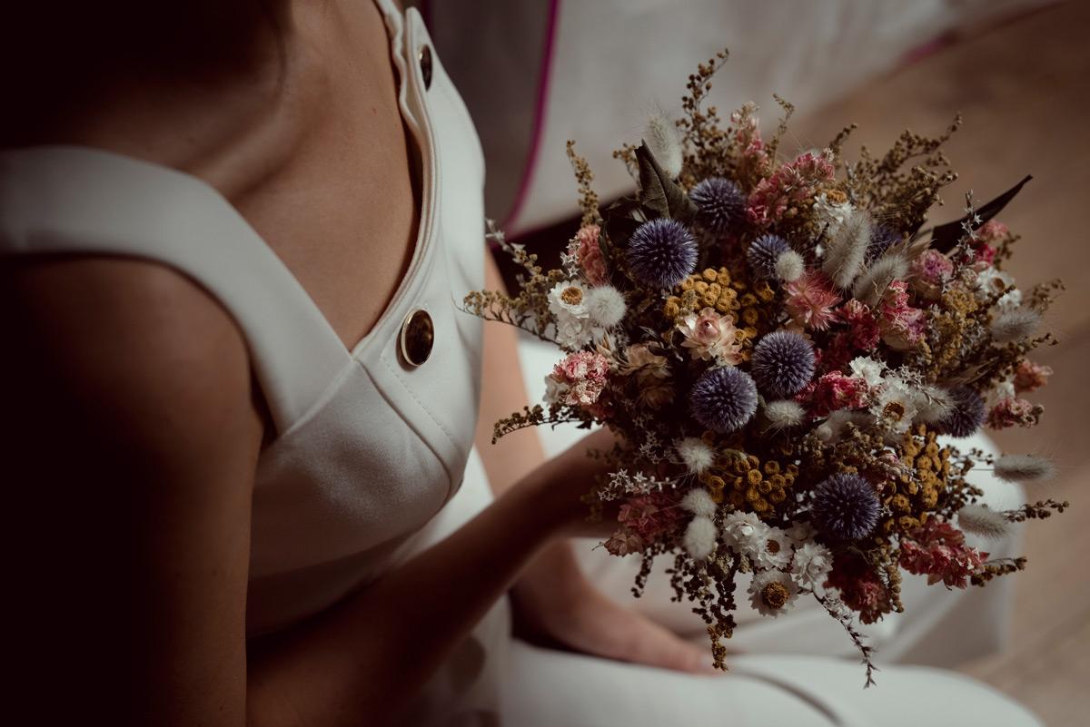 bouquet de l'autre saison des fleurs en Auvergne